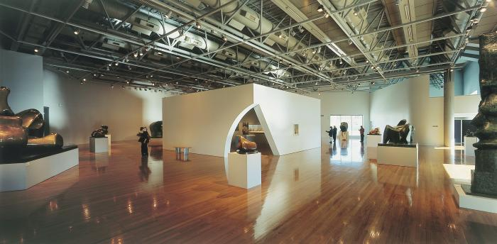 Henry Moore exhibition, 2002. Te Papa