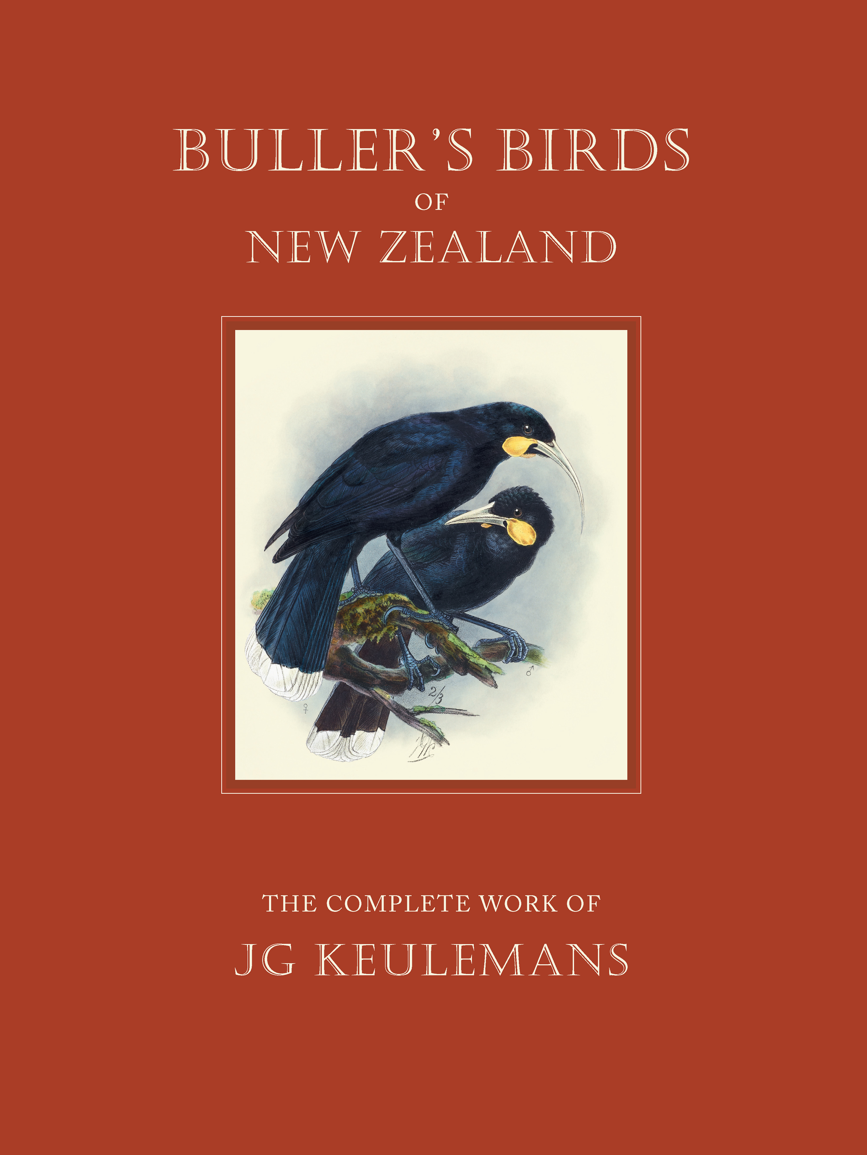 Buller's Birds of New Zealand: The Complete Work of J G Keulemans