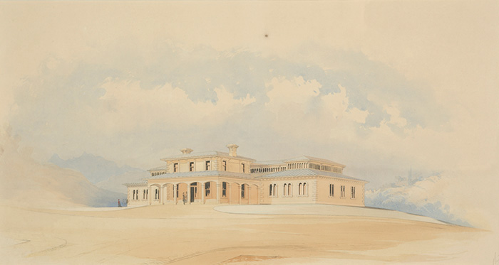 Painting of the Colonial Museum