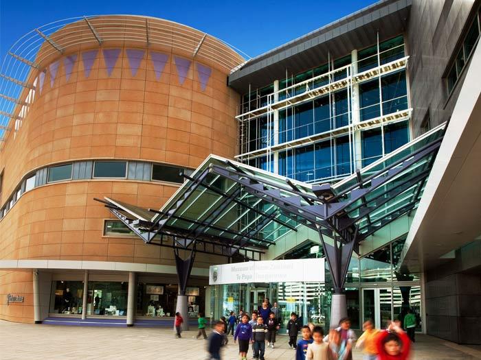 Te Papa's building