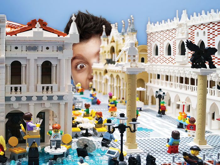 Lego at Te Papa museum