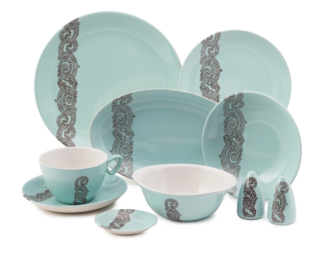 Crown Lynn Air New Zealand dinner set