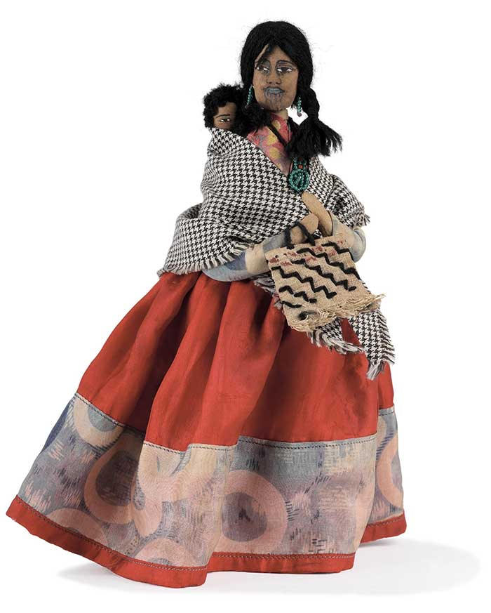 Doll, circa 1930, Taihape, by Bessie Murray. Gift of Mr and Mrs I C Ferguson, 1989. Te Papa (GH003664)