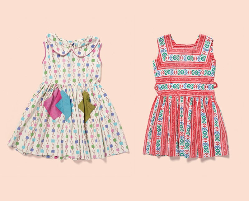Two children's summer dresses