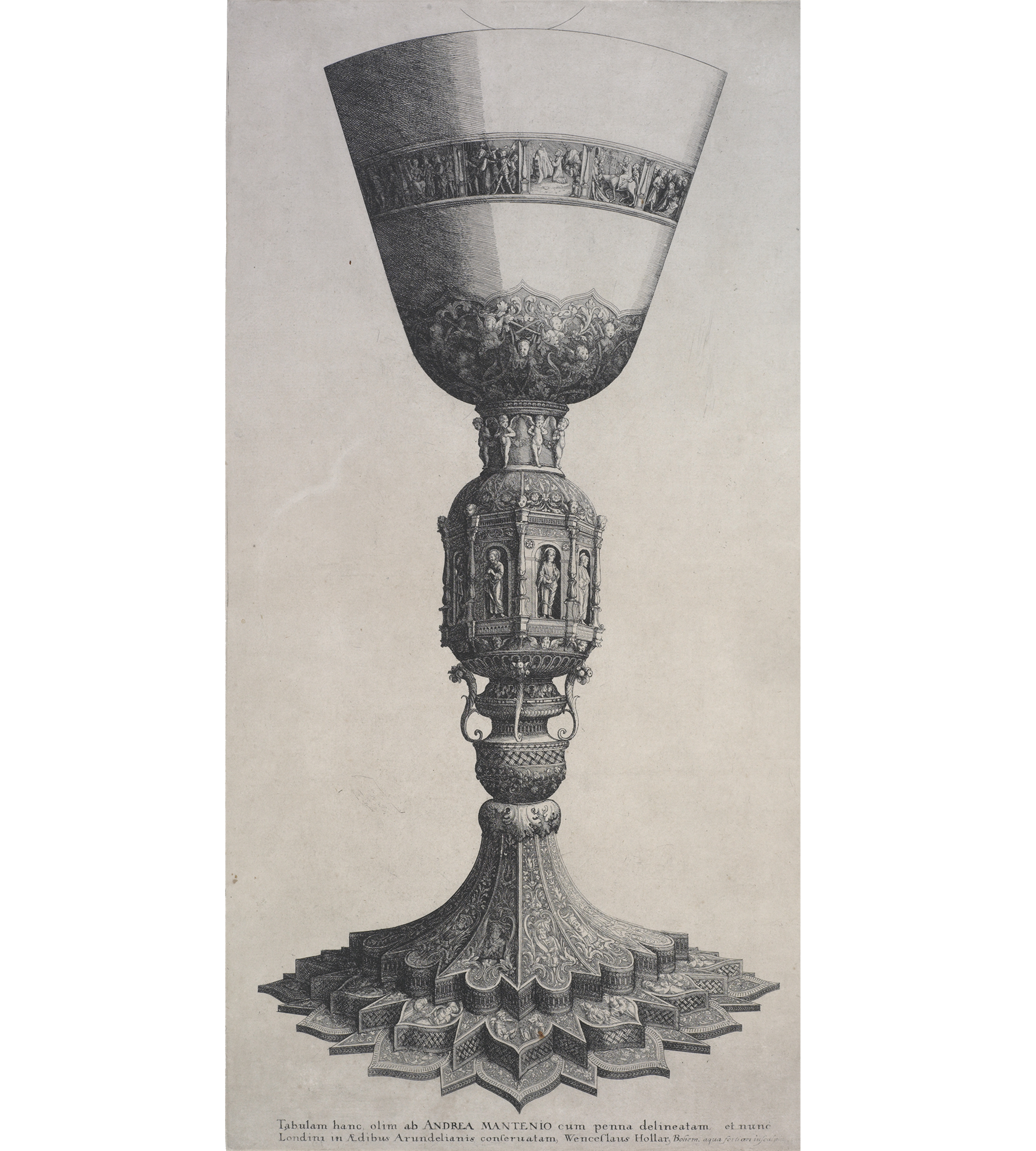 Etching of a chalice 1640