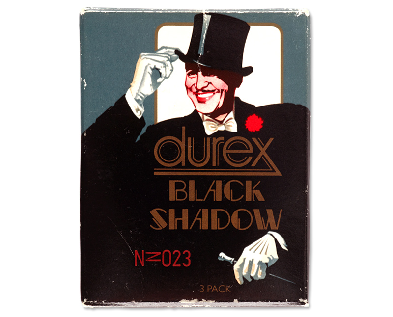 Durex Black Shadow condom packaging