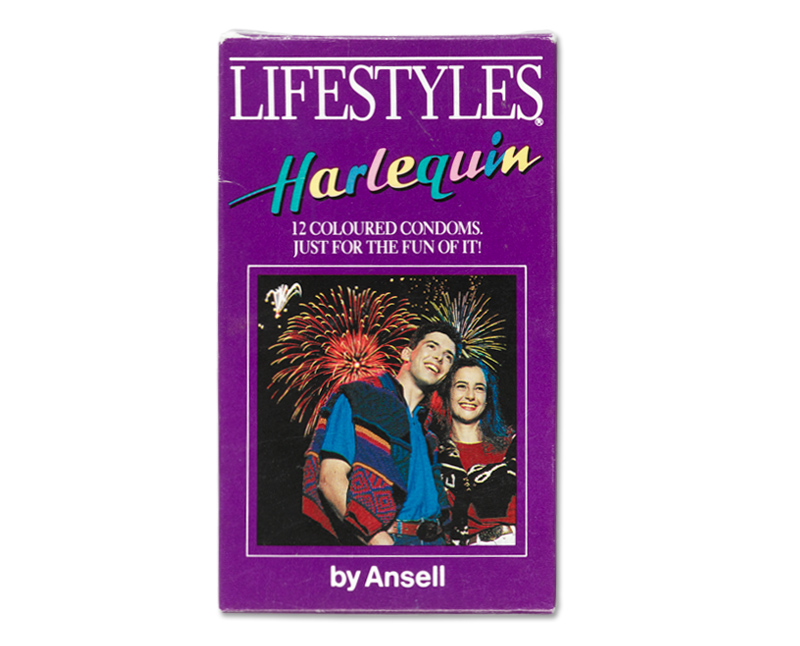 Lifestyles Harlequin condoms