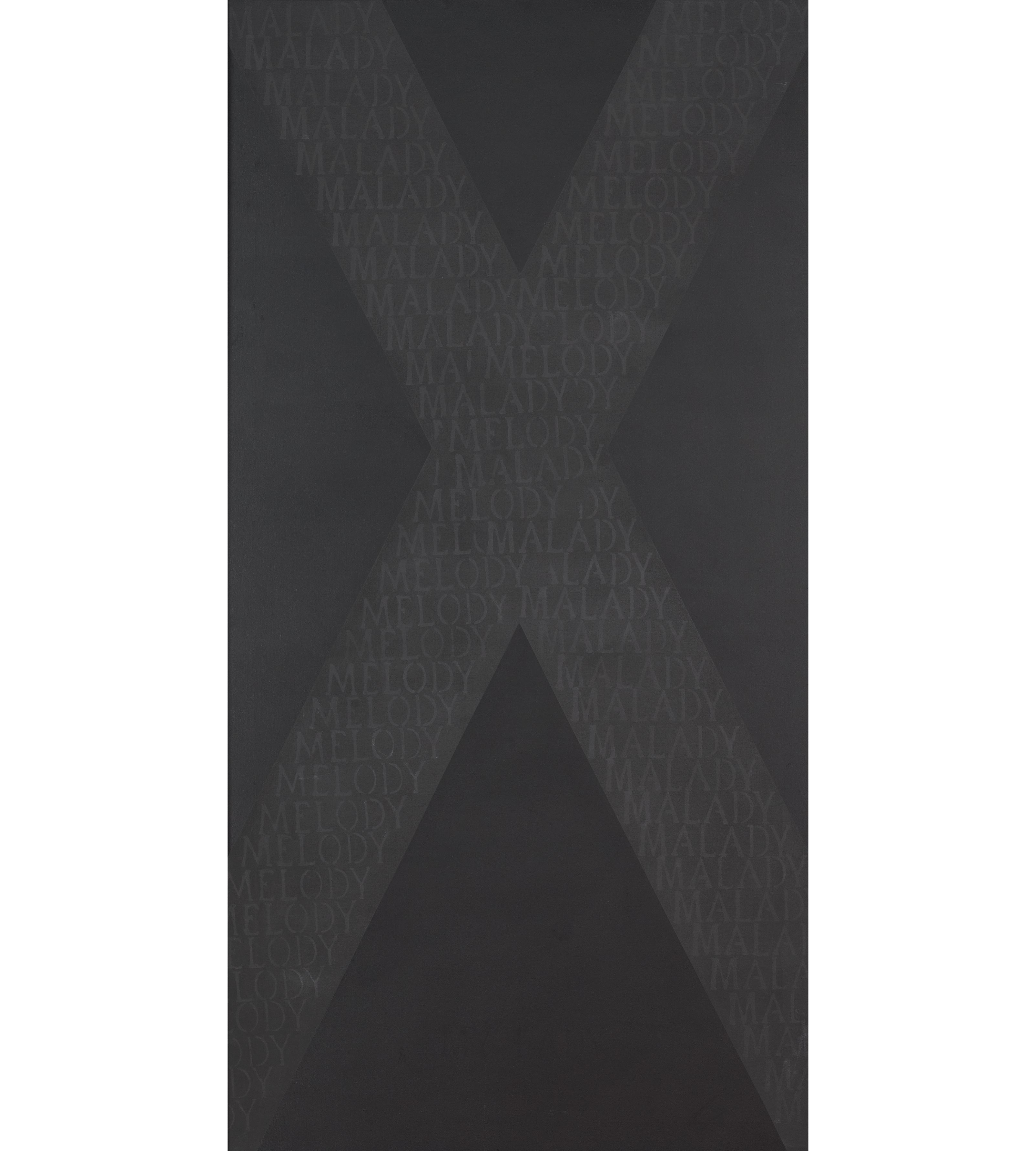 Image of Black painting XV