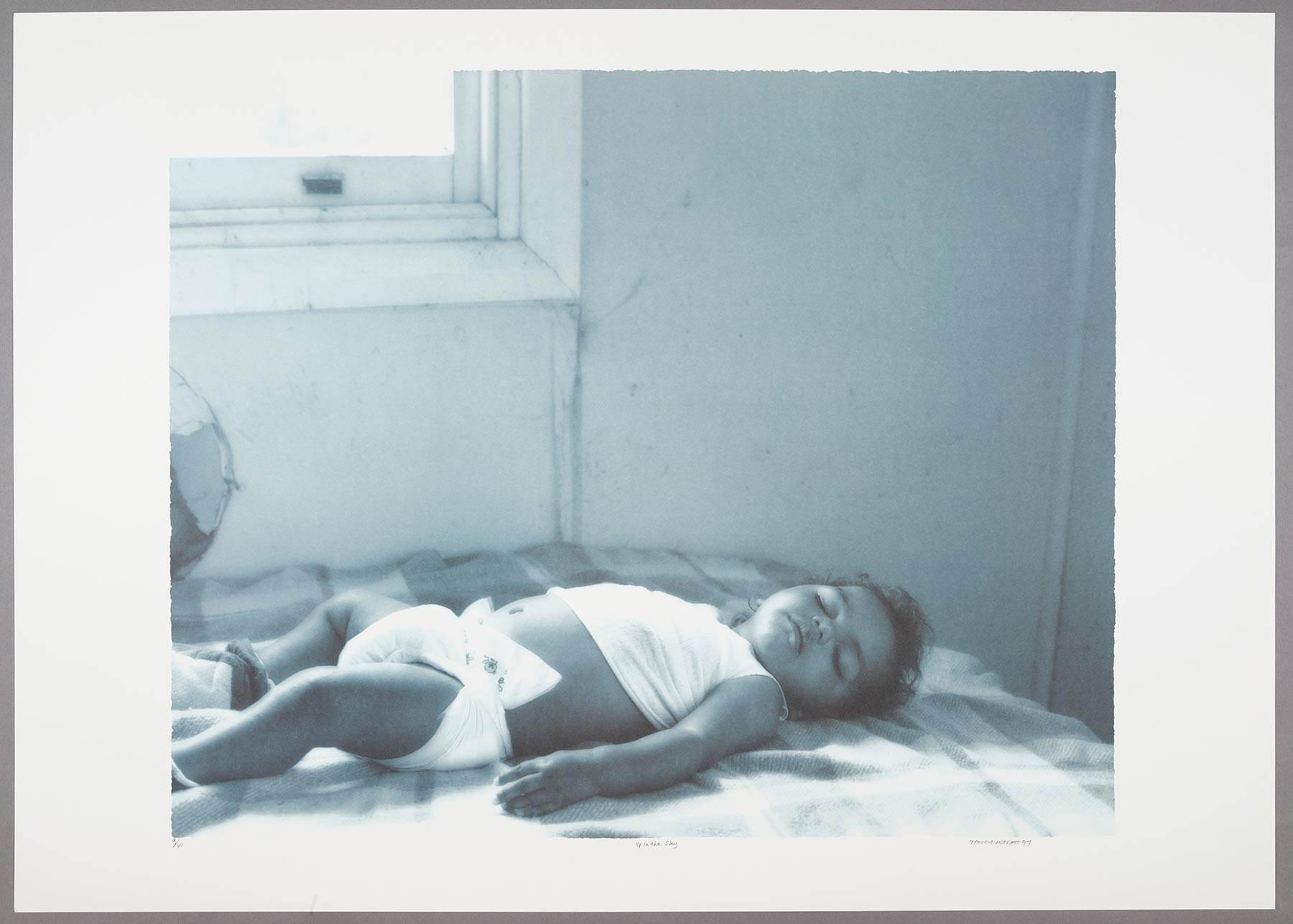 Image of baby on bed