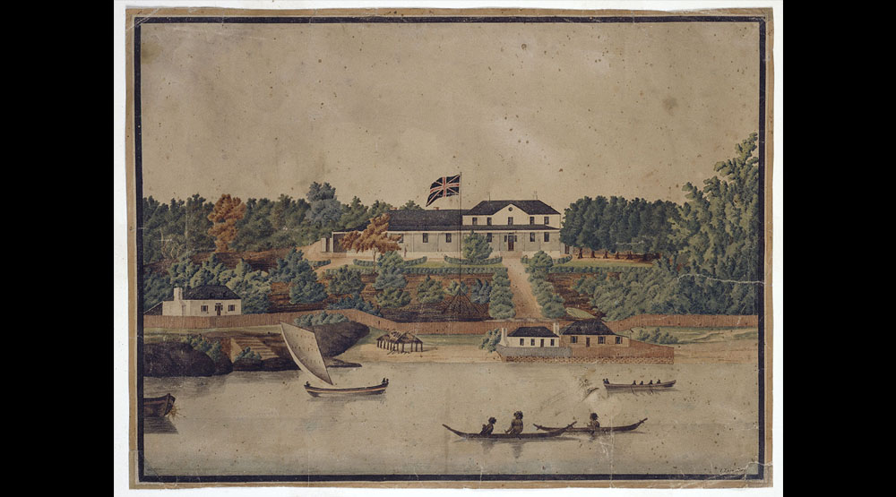 Government House in Parramatta, Sydney