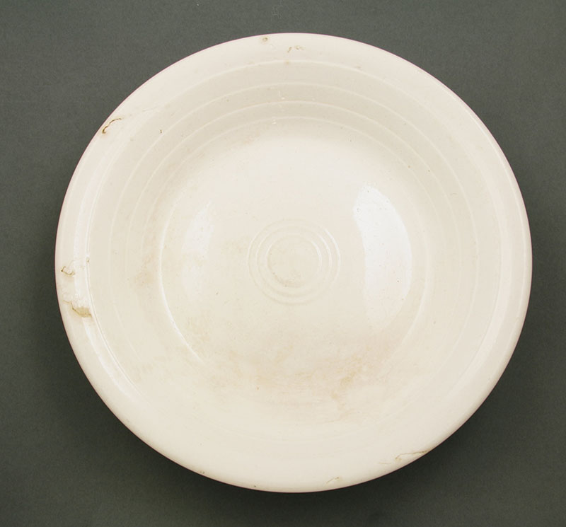 Crown Lynn soup plate