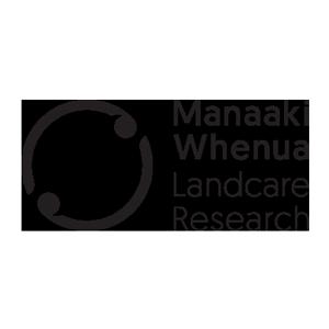 Manaaki Whenua Landcare Research logo