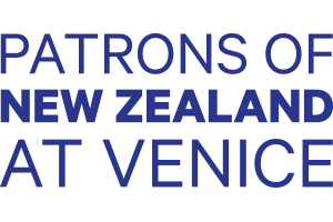 Patrons of New Zealand at Venice logo