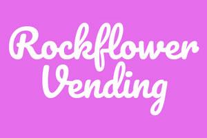 Rockflower vending logo