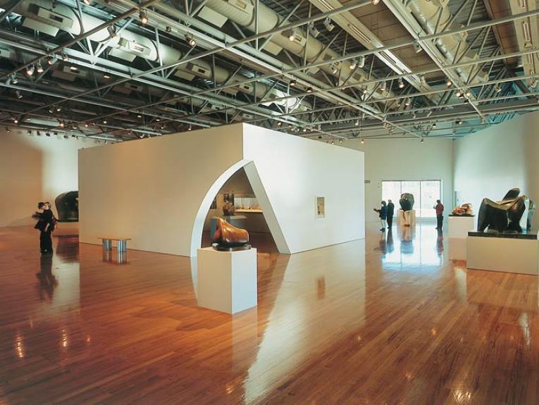 Henry Moore exhibition. Te Papa