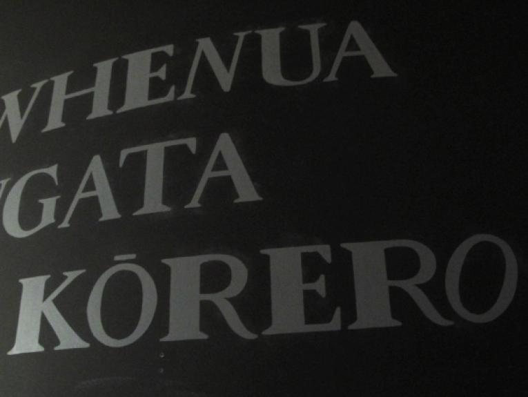 Rongowhakaata typeface