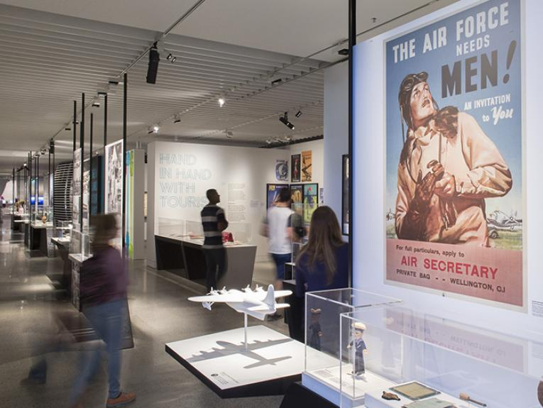 Air New Zealand exhibition