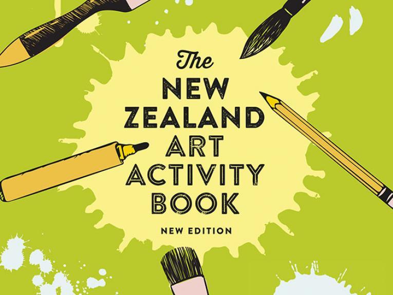 The New Zealand Art Activity Book