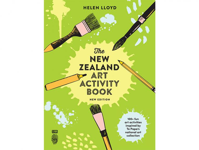 The New Zealand Art Activity Book new edition