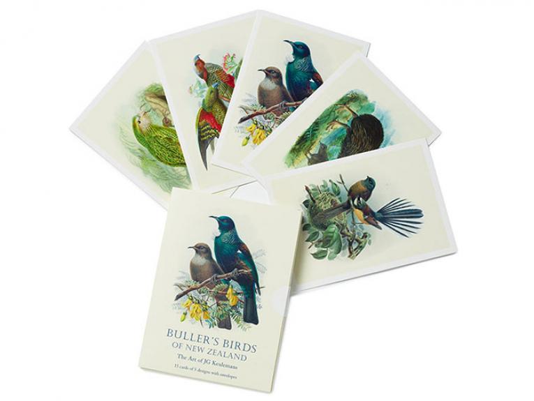 Buller's Birds of New Zealand Stationery