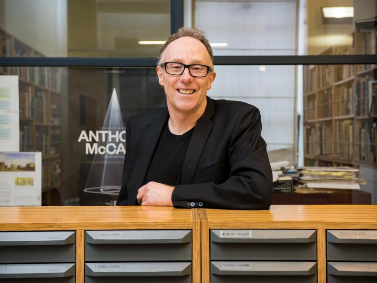 Conal McCarthy, author of Te Papa: Reinventing New Zealand's national museum 1998–2018