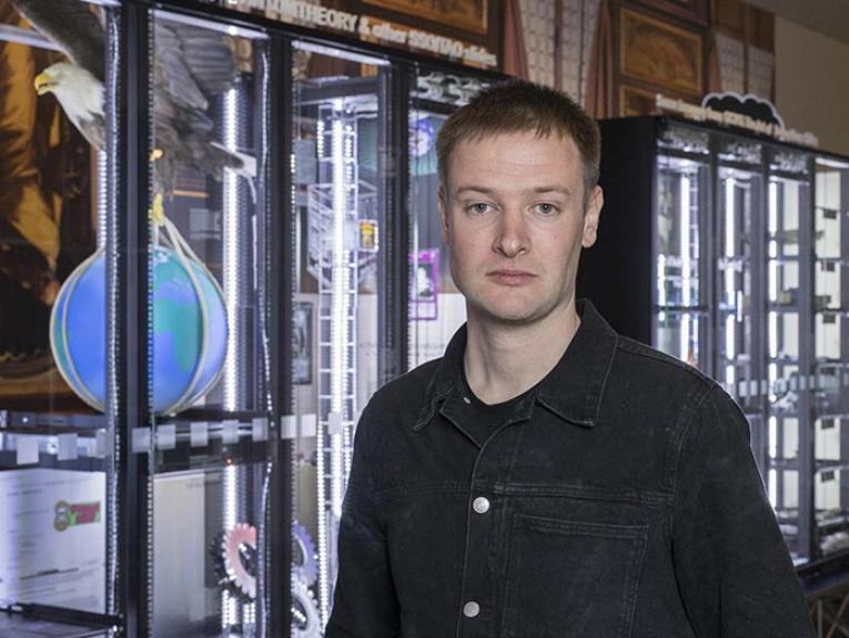 Portrait of Simon Denny