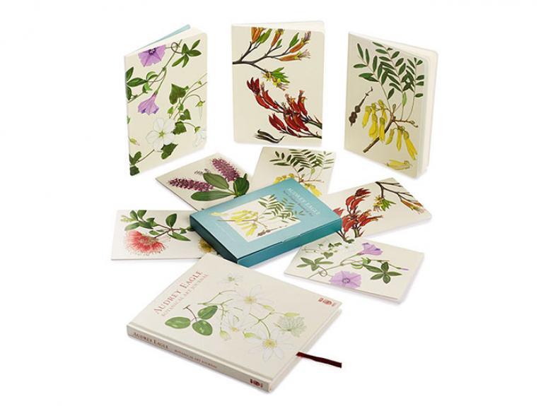 Audrey Eagle Botanical Art Stationery