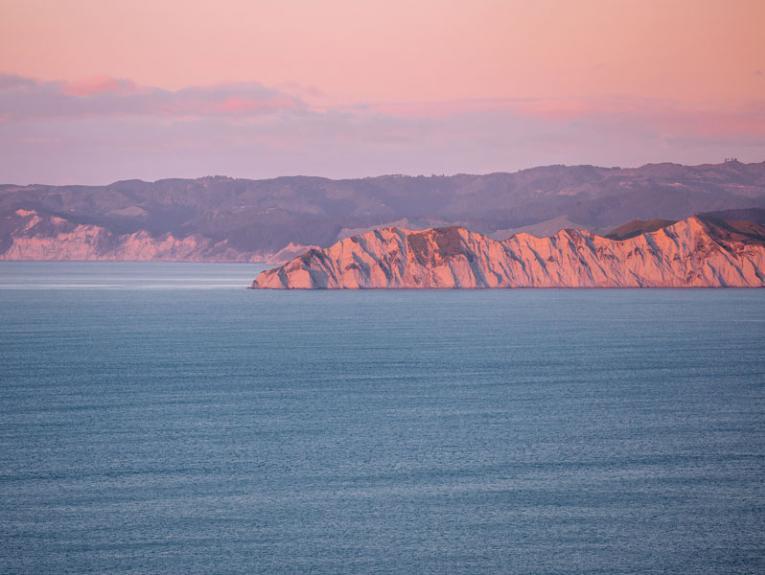 Gisborne coast at sunrise