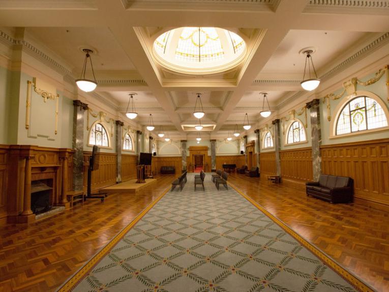 Interior of the Grand Hall
