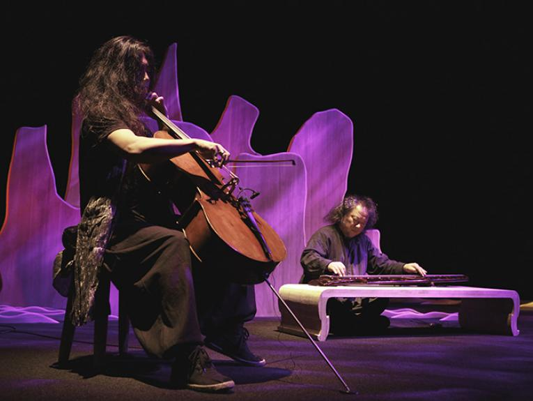 Guqin and strings