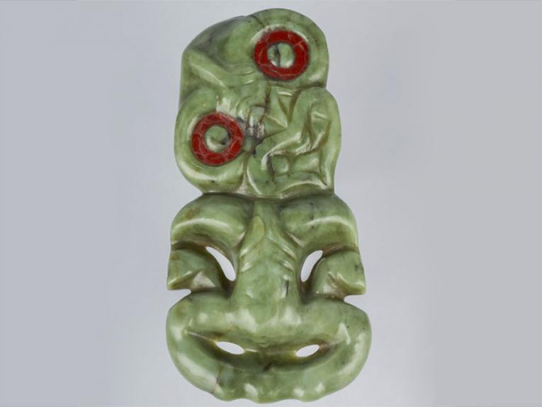 Hei tiki (pendant in human form)