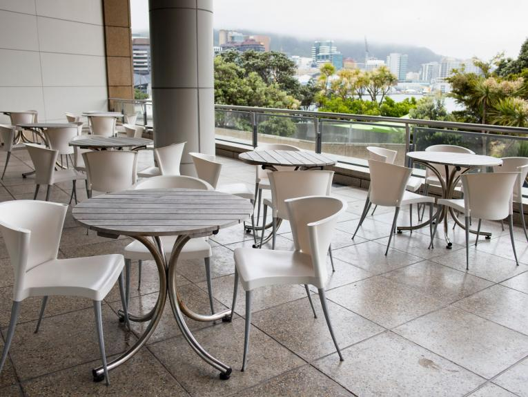 The balcony: Icon meeting and function venue Wellington