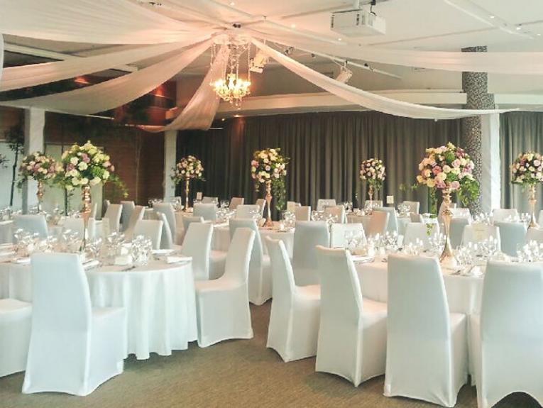 Wedding set up in Icon