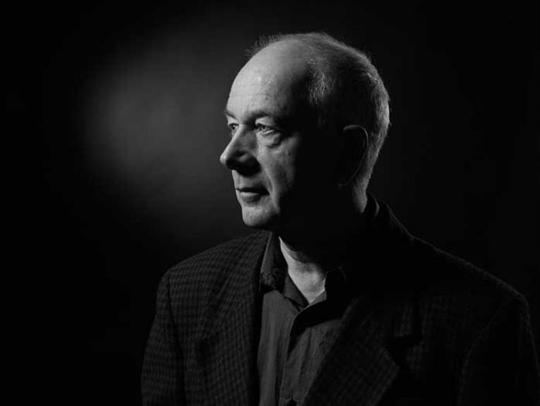 Author Athol McCredie, black-and-white.