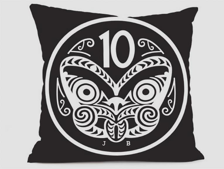 10 Cent Coin Cushion Cover