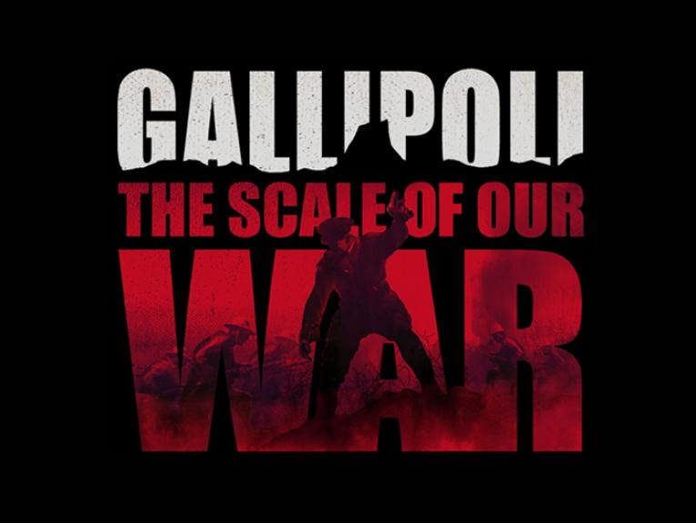 Gallipoli: The scale of our war logo