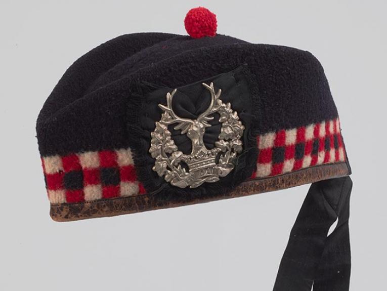 1880s-1890s Glengarry cap