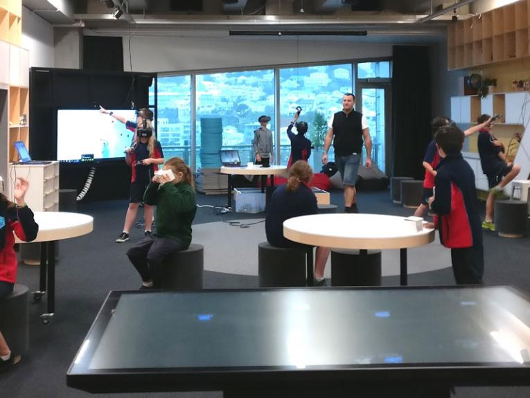 Inside the learning lab