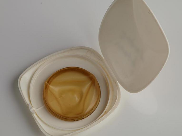 Diaphragm in case