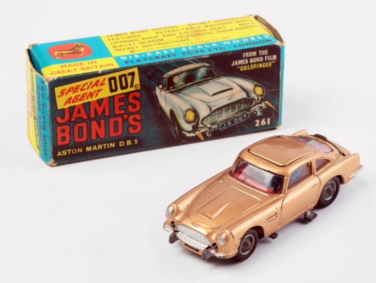 James Bond Toy Car