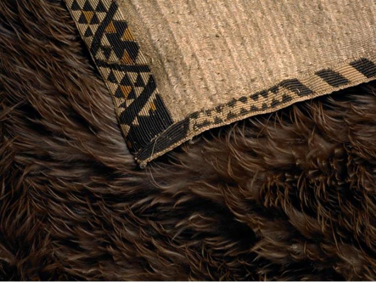 Close-up of cloak