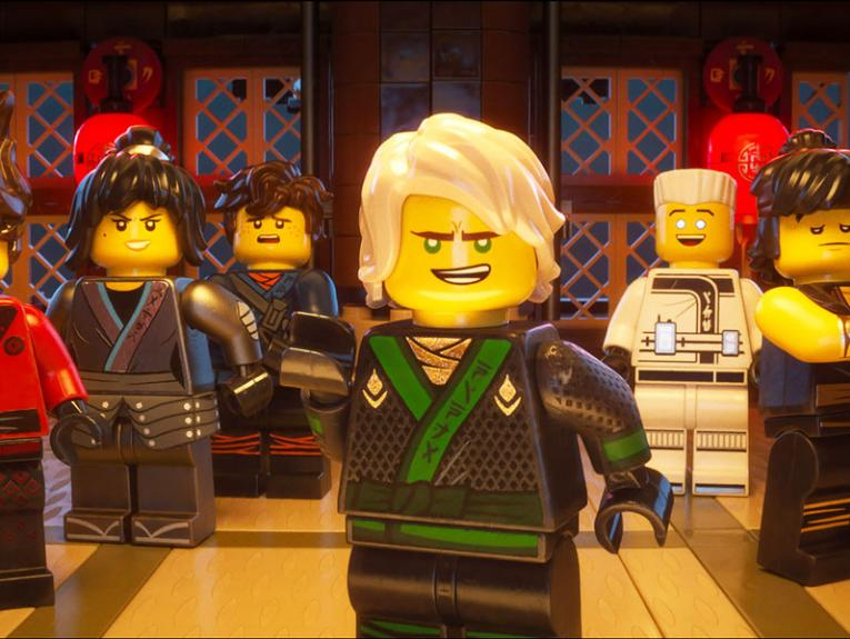 Characters from the Lego Ninjago movie