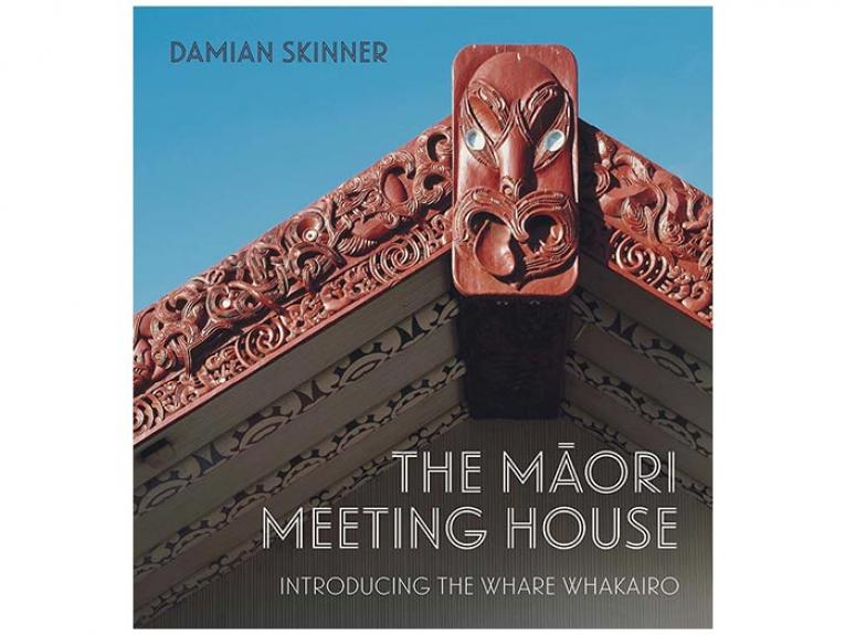 Book cover of The Māori Meeting House