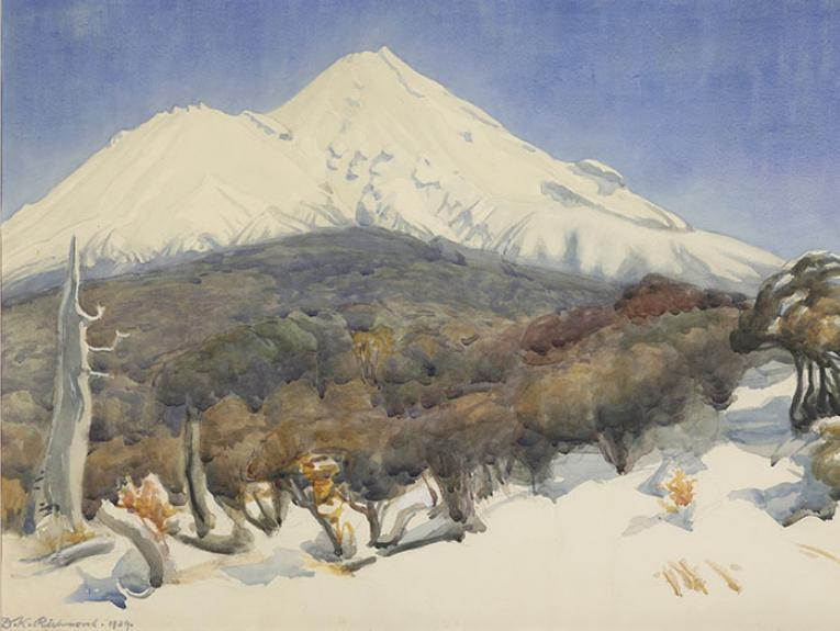 Painting of Mount Egmont