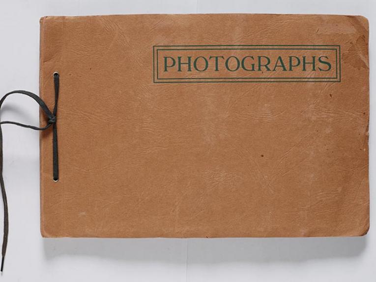 Photograph album cover