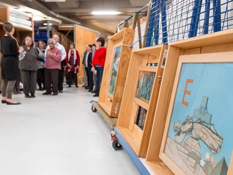 Art Gallery - Behind the scenes