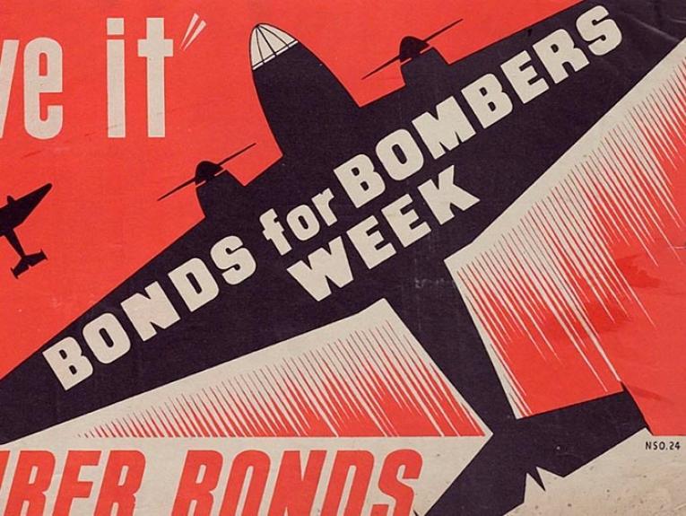 Bomber bonds poster