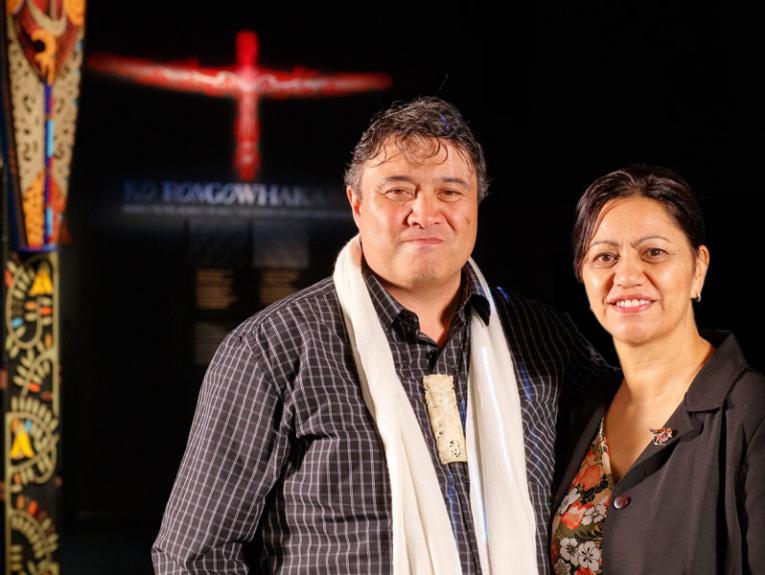 Rongowhakaata Pou Tikanga April Nepia-Su'a and Taharakau Stewart