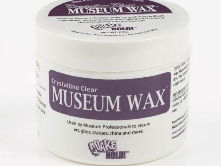 A jar of wax