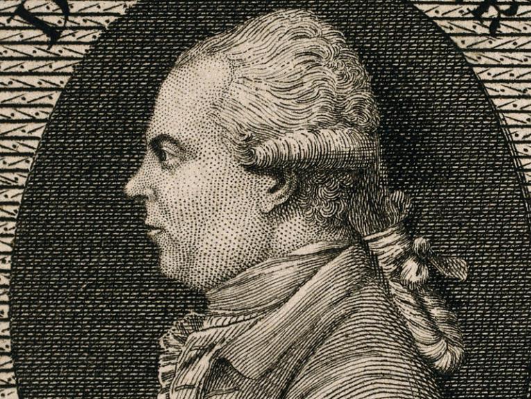 Line engraving of Solander